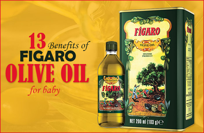 13 Amazing Benefits Of Figaro Olive Oil For Babies's Massage, Hair, Food