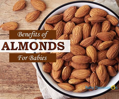 Benefits Of Almonds For Babies