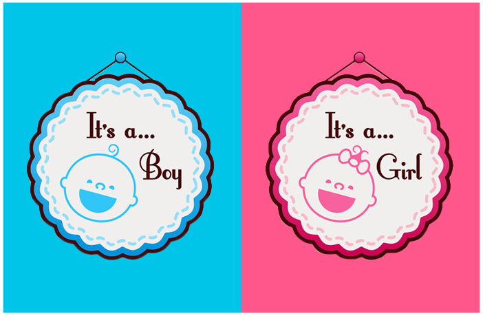 Why is pink for girls and blue for boys?