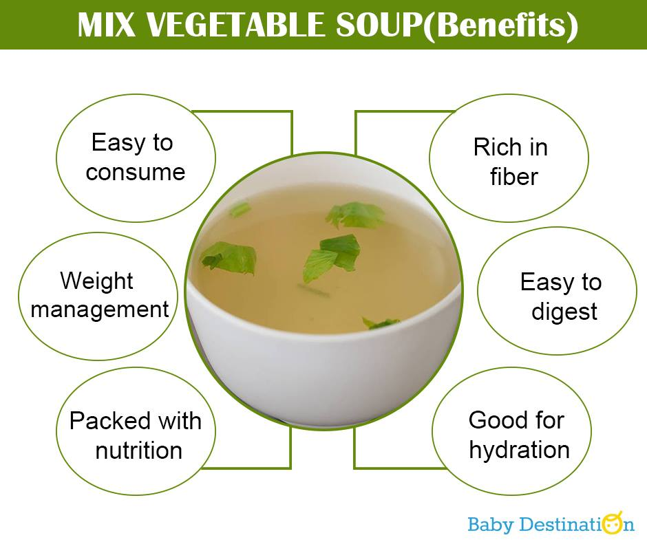 Winter Soup For Babies