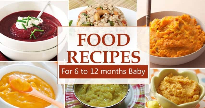 10 Month Baby Food I 10 Food Recipes For Infants