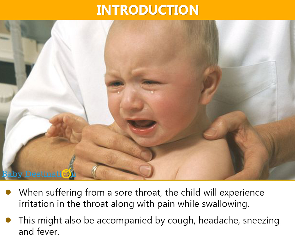 Home Remedies To Treat Sore Throat In Babies