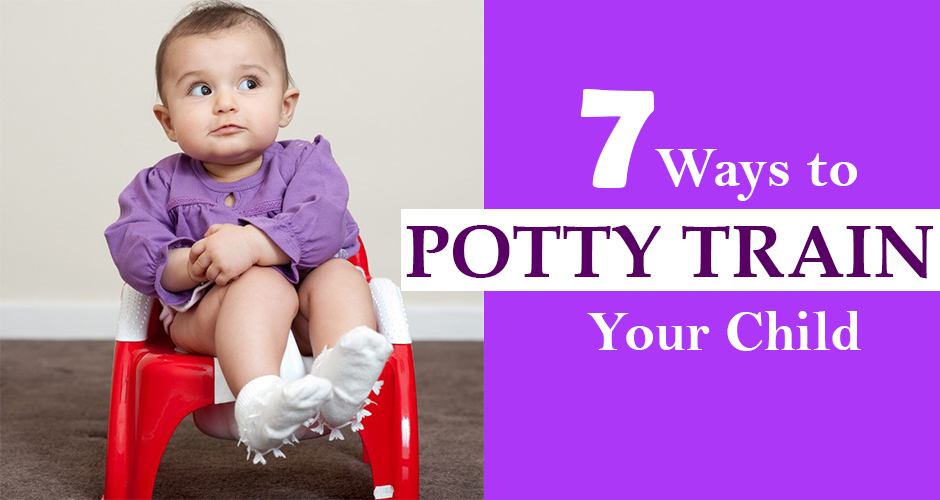 7 ways to potty train your child (when he is ready)