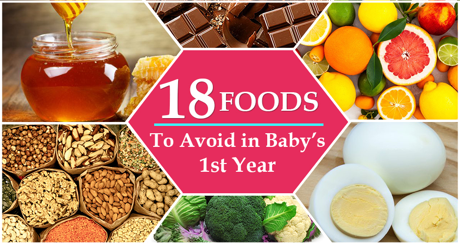 18 Unsafe Foods For Your Baby before 1 year