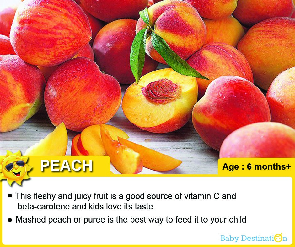6 Summer Fruits For Babies