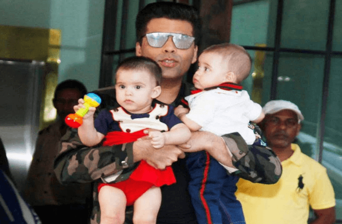 Open Letters by Karan Johar to his Twins
