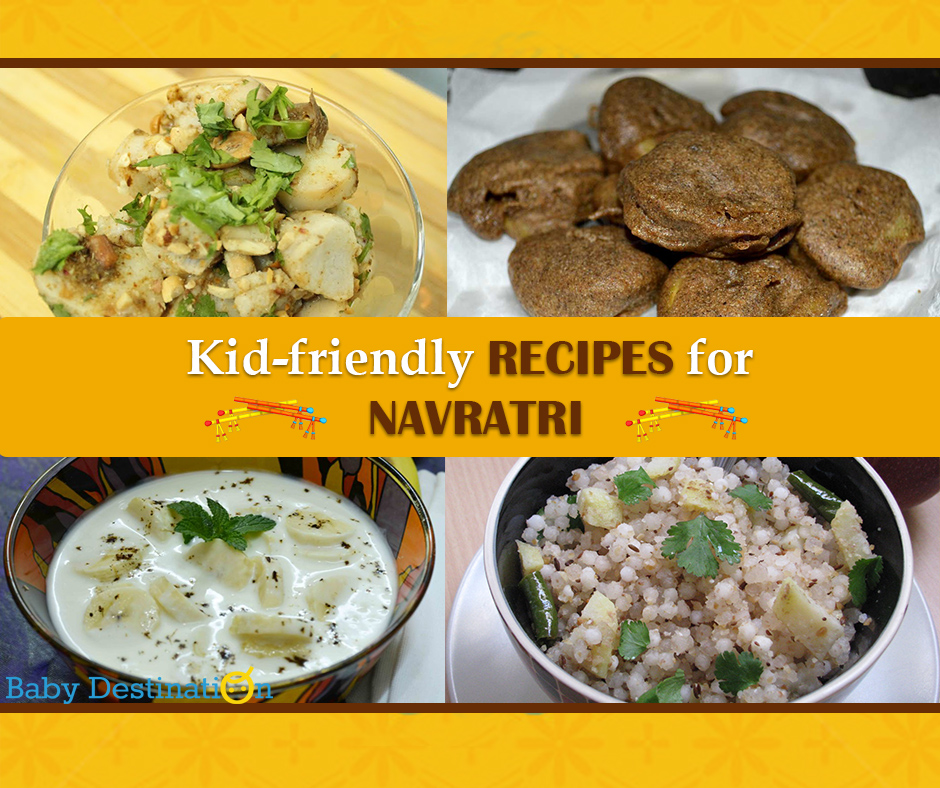 Kid-Friendly RECIPES For Navratri