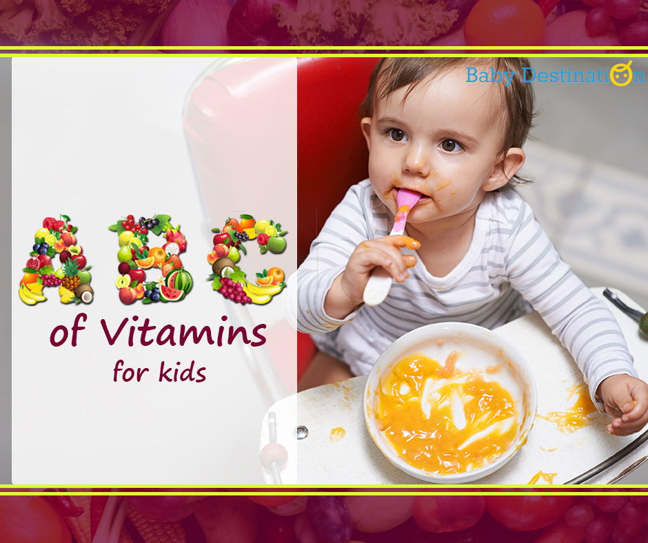 A,B,C Of Vitamins For Kids