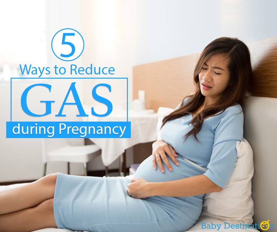 5 Ways To Reduce Gas During Pregnancy