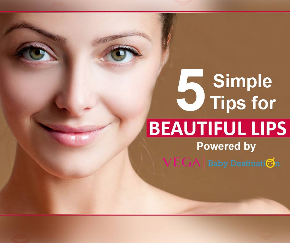 5 Simple Tips For Beautiful Lips