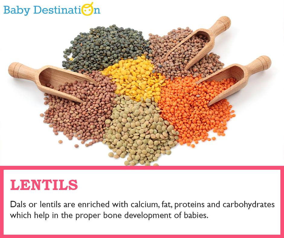 Foods For Baby's Strong Bones