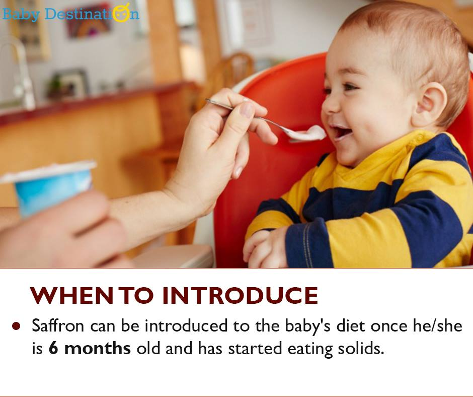 How To Add Saffron In Baby Diet