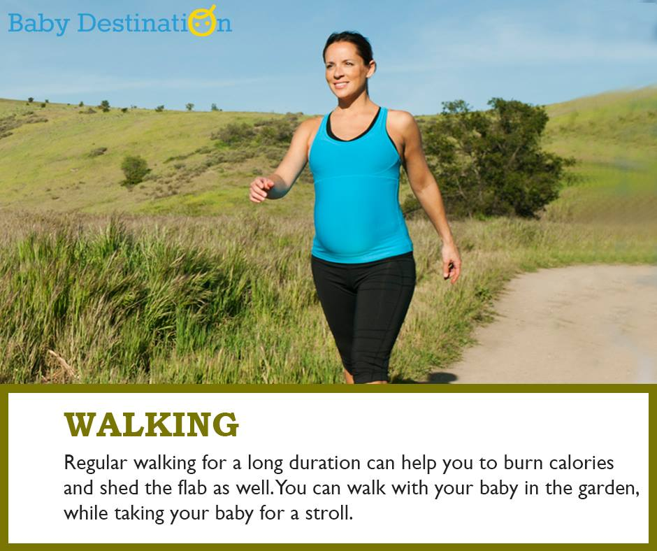 5 Tips To Weight Loss Through Exercise After Delivery