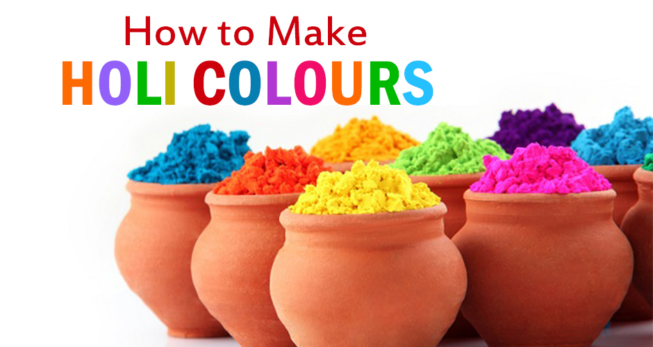 Tips on how to make natural home-made colours