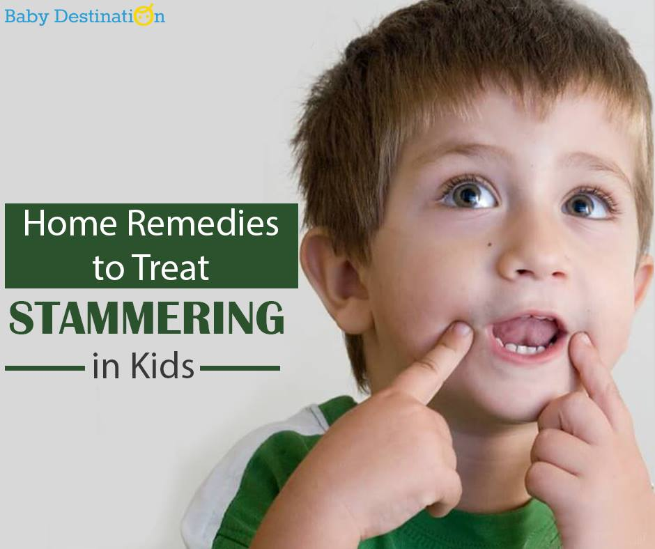 Home Remedies To Treat STAMMERING In Kids