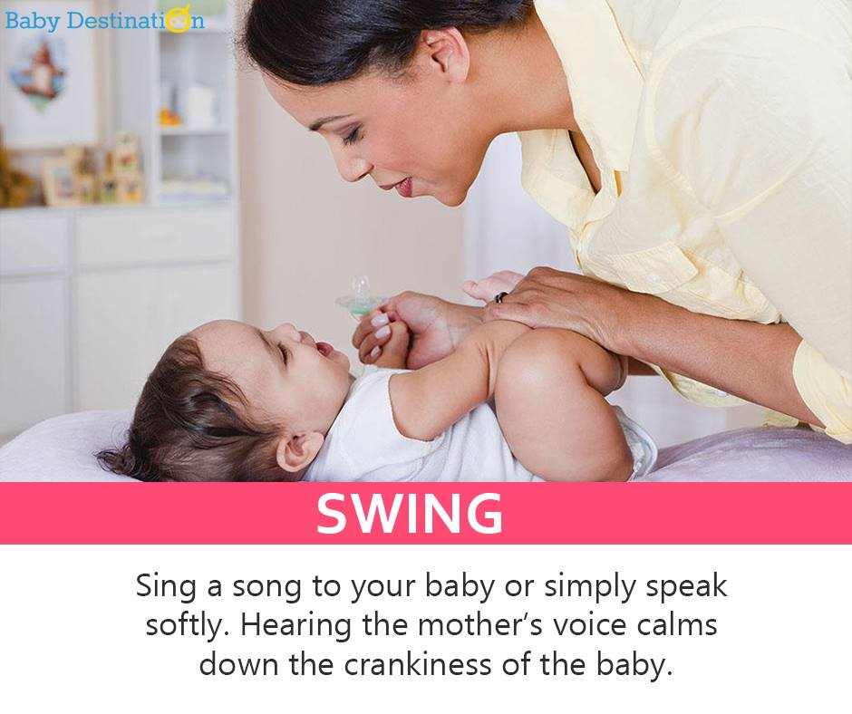5 Effective ways to calm a cranky baby