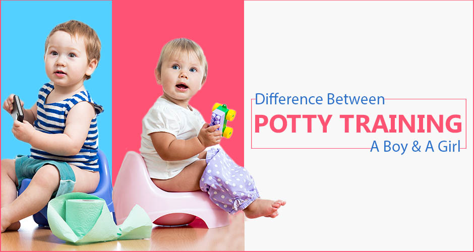 How Potty Training A Boy Is Different From Potty Training A Girl?