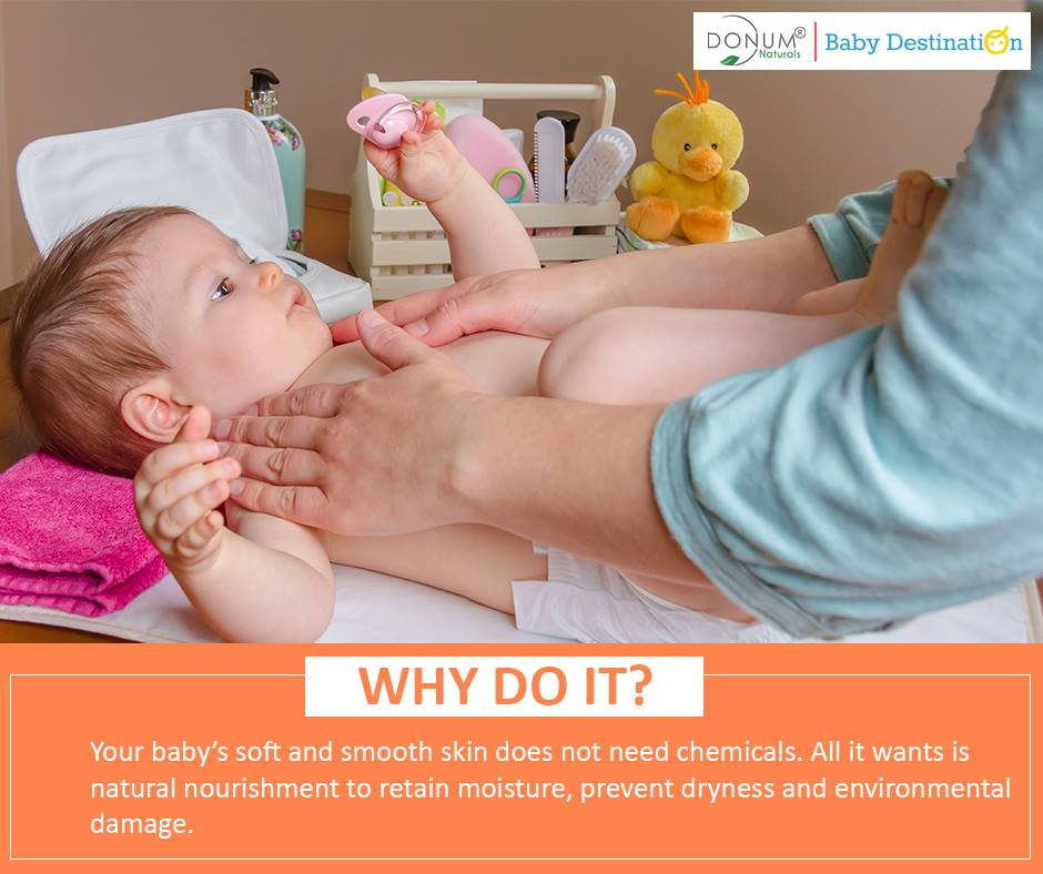 How to nourish your baby's skin naturally