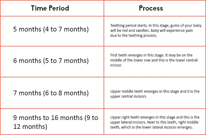 Baby Teething Timeline: A complete guide