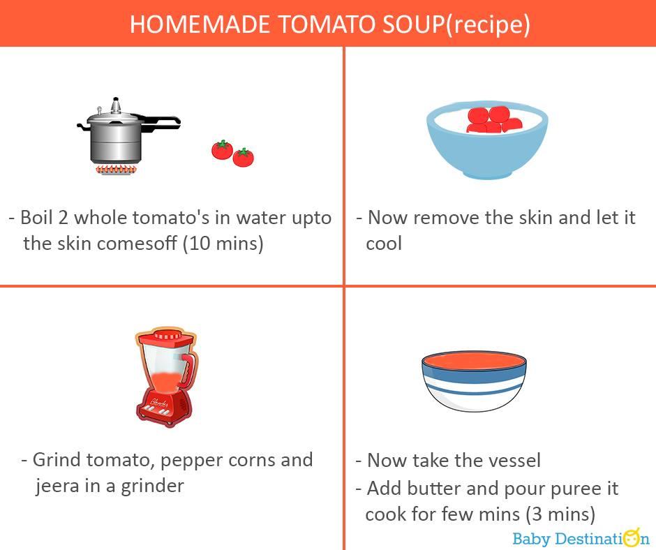 Homemade Tomato Soup Recipe