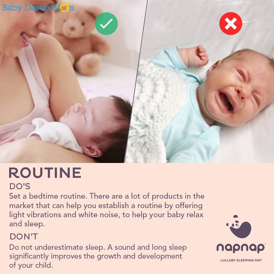 Baby Sleep Dos and Don'ts