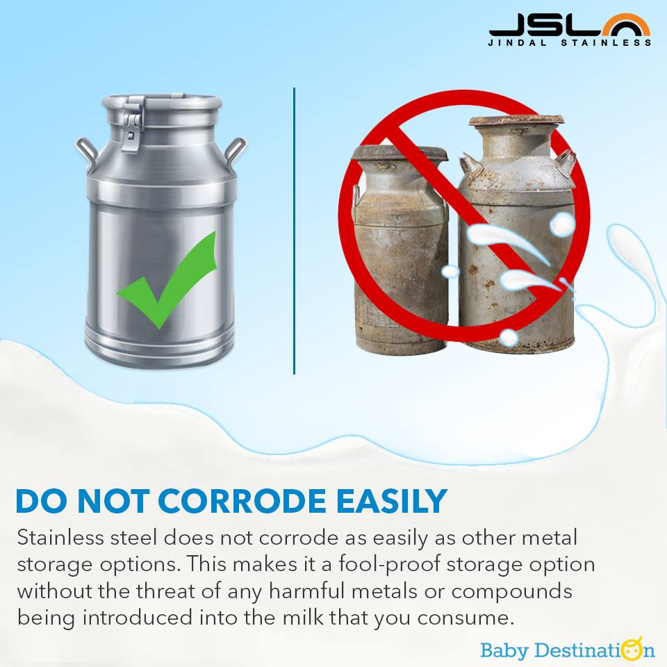 5 Reasons Why You Should Store Milk In Stainless Steel Containers