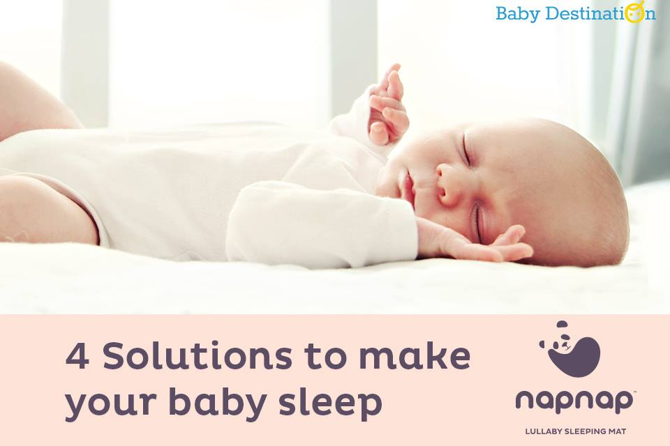 4 Solutions To Make Your Baby Sleep