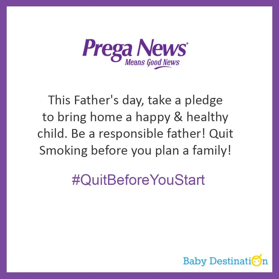 Why Fathers Must Quit Smoking Before Starting A Family?