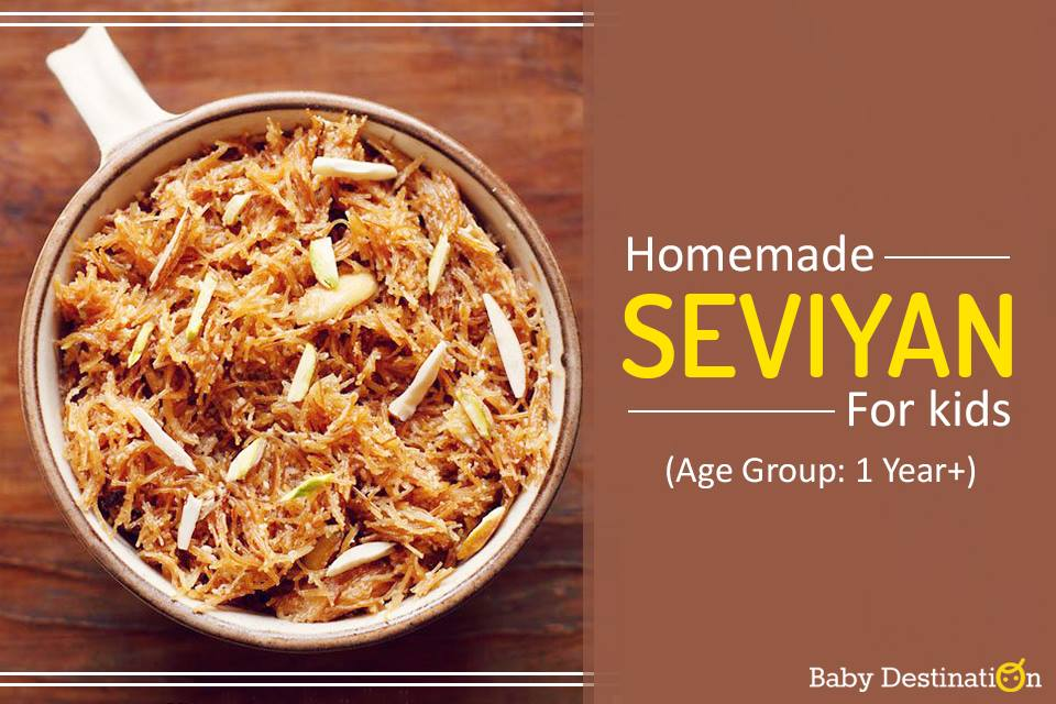 Homemade Seviyan For Kids