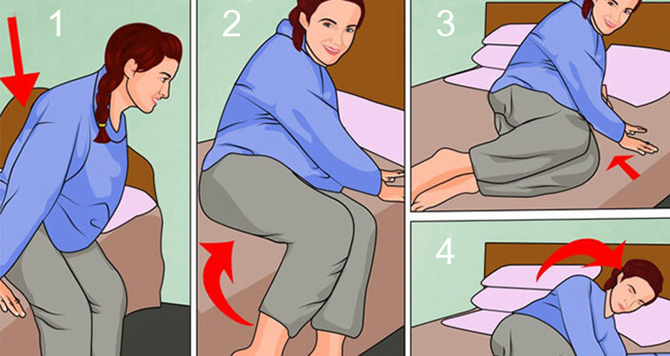 How to lie down and get up during Pregnancy - A Step-Wise Guide