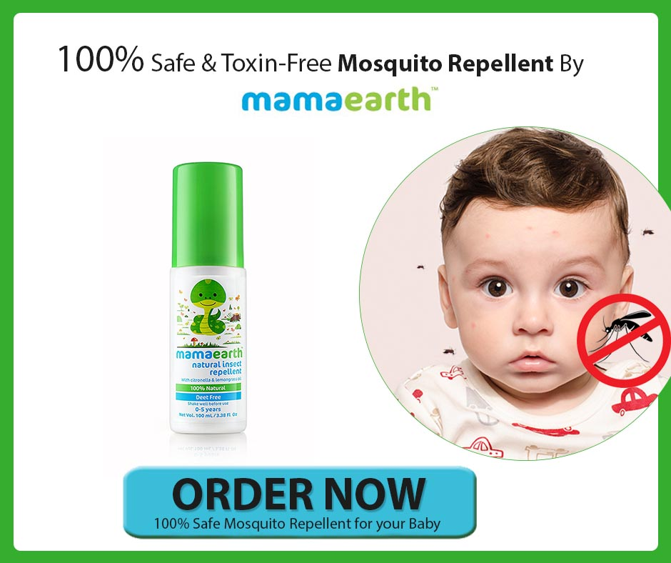 Mosquito bite remedy for baby