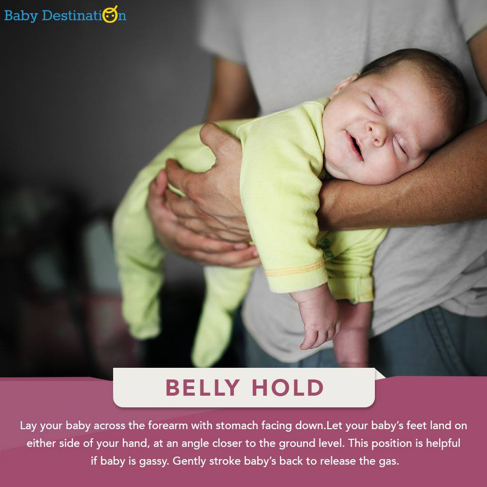 How To Hold A NewBorn Baby
