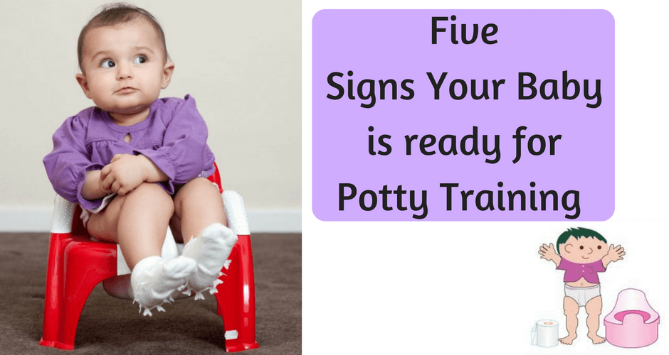 5 Ways To Find Out That Your Child Is Ready For Potty Training