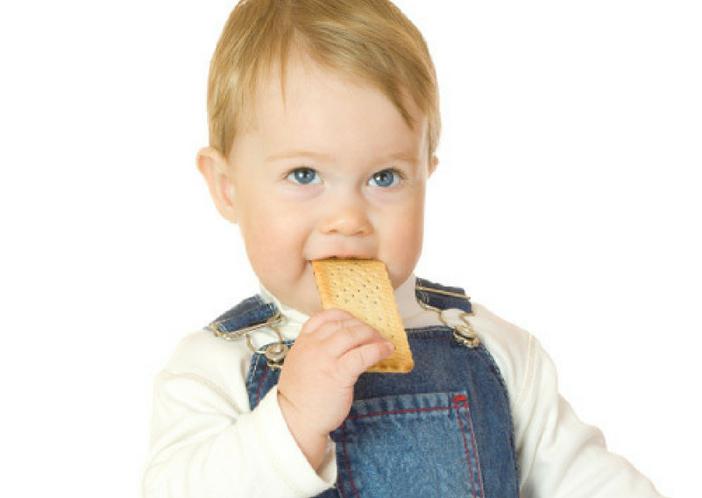 self eating baby