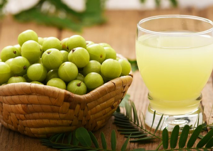 amla juice for pcod