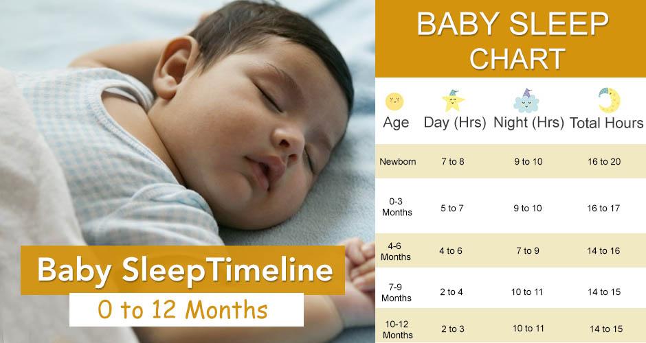 Baby Sleep Timeline - Newborn to 12 months