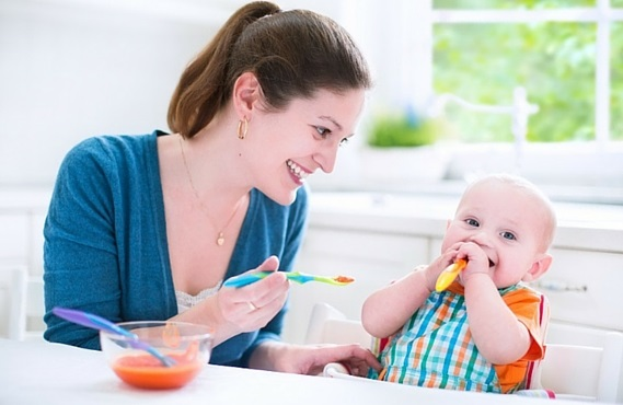 Amylase Rich Diet or Food for Weaning Infants