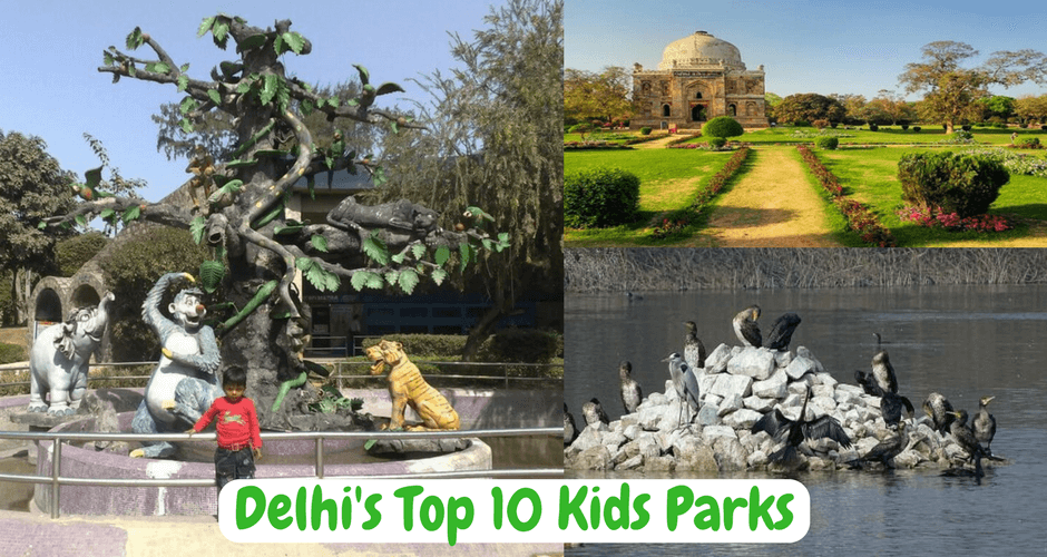 These 10 gardens in Delhi your child will really LOVE