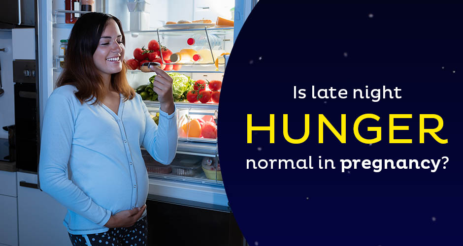 How to deal with midnight hunger during pregnancy?