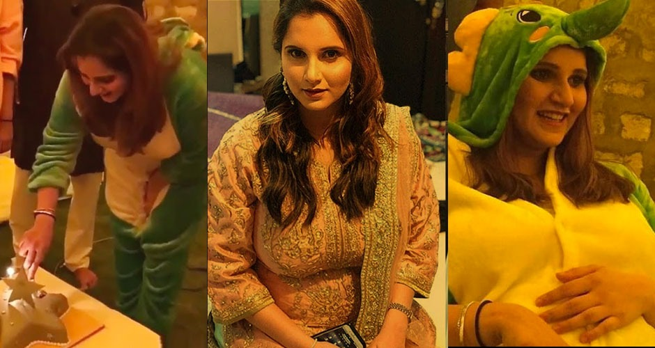 Sania Mirza Enjoys Her Pajama Party Baby Shower
