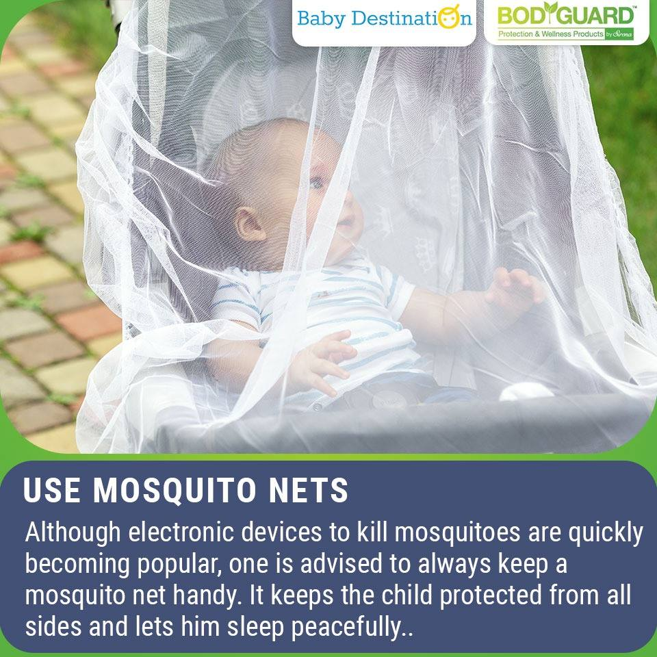 5 Ways To Protect Your Child From Mosquito Bites