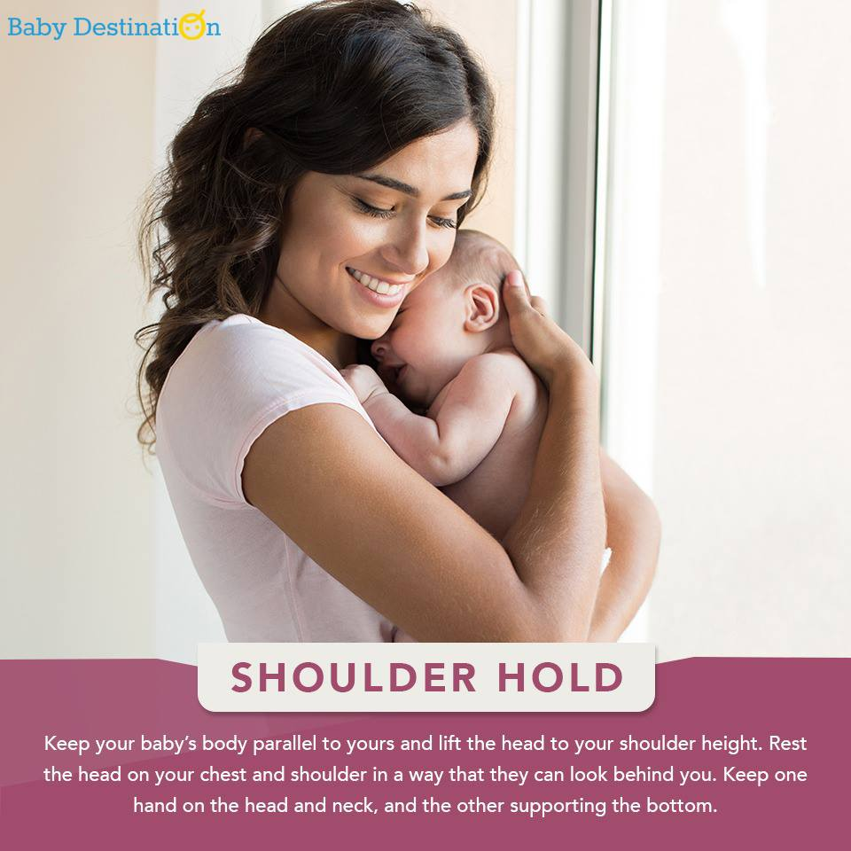 How To Hold A New Born Baby