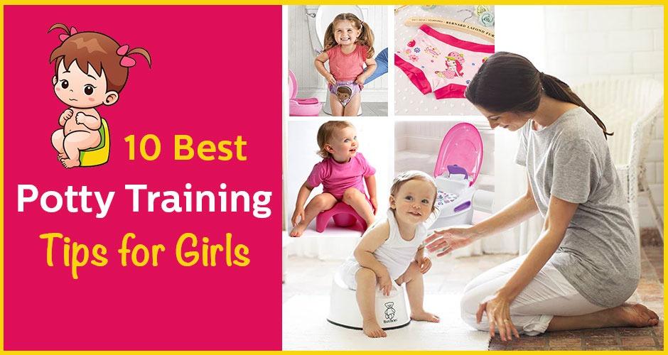 10 Best Potty Training Tips for Girls