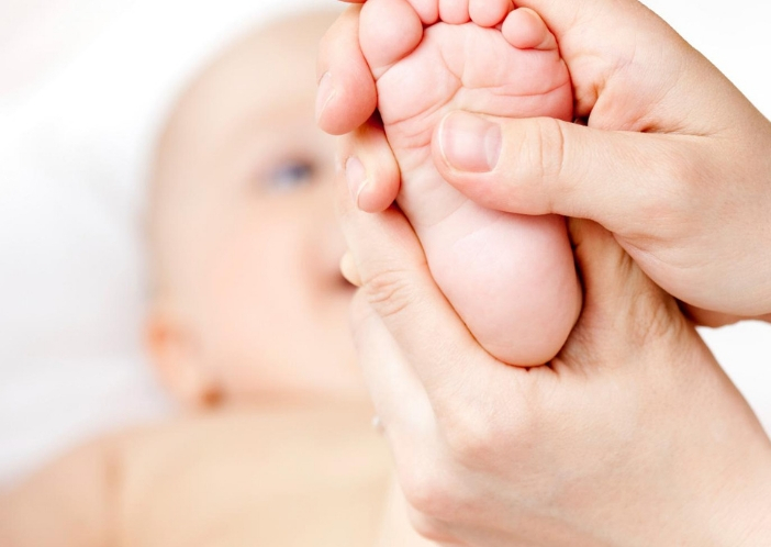 foot reflexology for babies