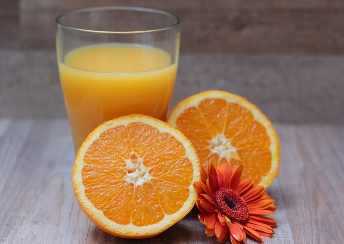 orange juice for uti