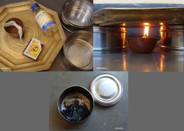 homemade kajal