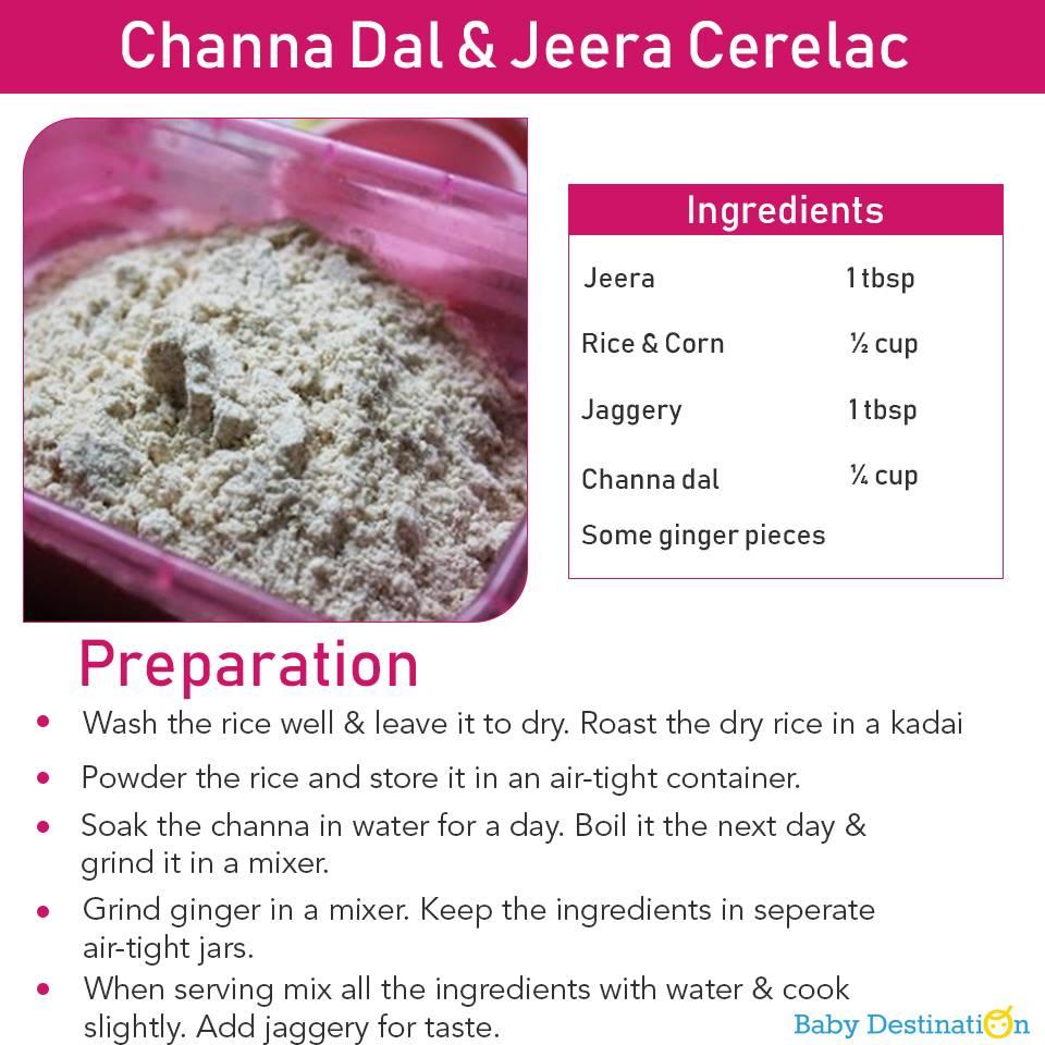5 Homemade Cerelac Recipes For Babies