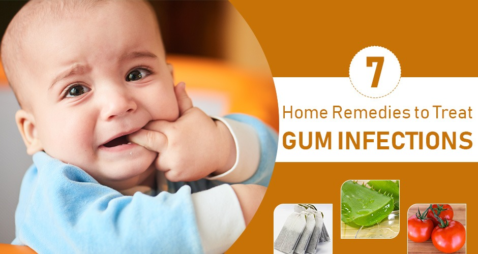 7 Useful Homemade Solutions For Treating Gum Infections
