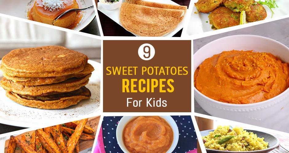 9 Easy Sweet Potato Recipes For Kids