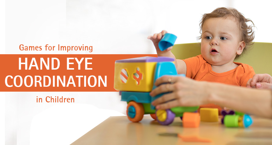 Most Recommended Games for Improving Hand Eye Coordination in Children